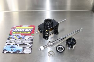 Billet gear assembly and stick
